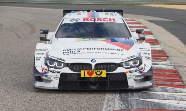 BMW M4 DTM ready to start German Touring Car Championship